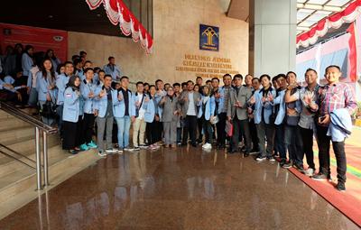 Fakultas Hukum UBL Kunjungan Edukasi ke Berbagai Lembaga Hukum Negara