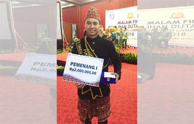 Mahasiswa UBL Terpilih Menjadi Duta Bahasa Lampung 2018
