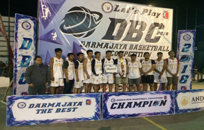 Tim Basket UBL Tiga Tahun Berturut-Turut Juara 1 DBC