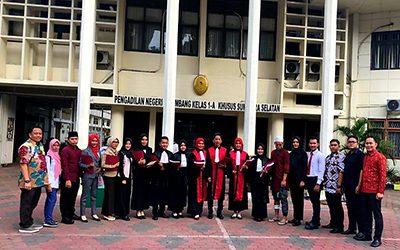 MCC UBL Raih Juara Lomba Peradilan Semu se-Sumatera