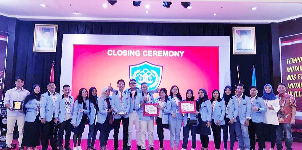 Pertama Kali Ikuti Lomba Nasional, MCC FH UBL Sabet Juara