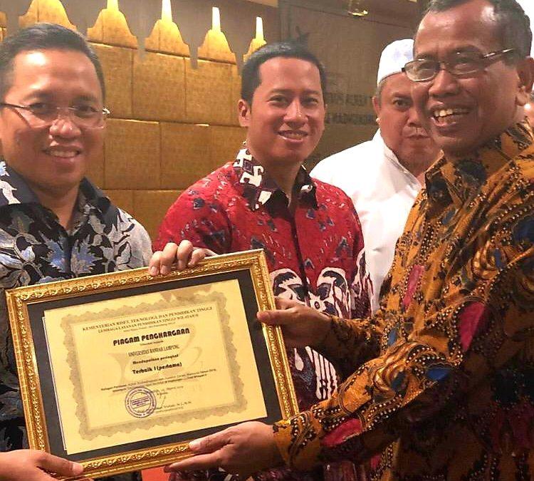UBL Raih Penghargaan Universitas Terbaik di Lingkungan LLDikti Wilayah II