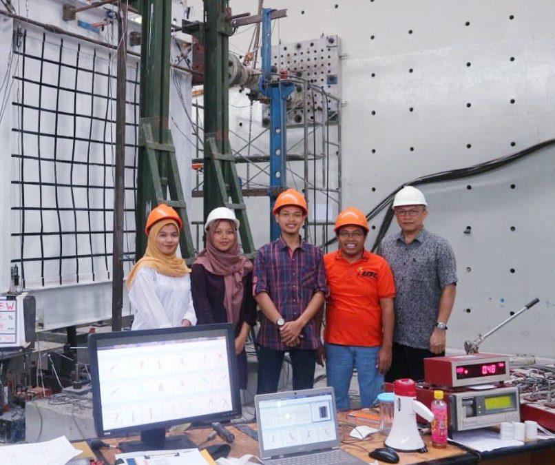 Dosen UBL Teliti Metode Baru Penahan Beban Gempa untuk Struktur Baja