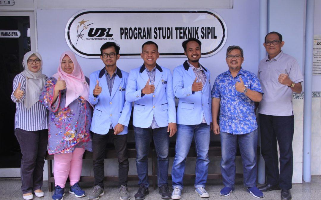 "Tim ""Gajah Krakatau"" UBL Wakili Lampung  Lomba Rancang Bendungan Nasional"