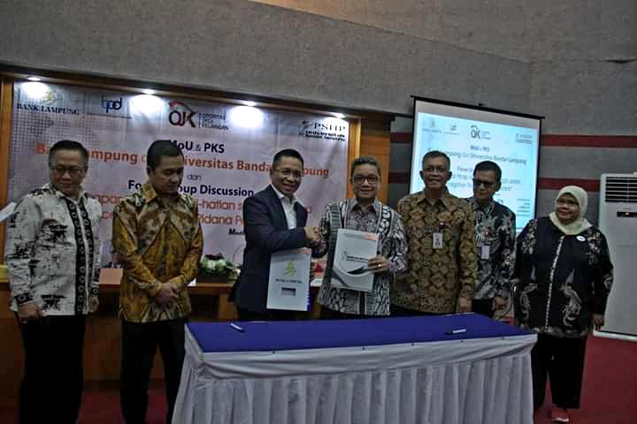UBL dan Bank Lampung Lakukan Tanda TangUBL dan Bank Lampung Lakukan Tanda Tangan MoU & PKSan MoU & PKS