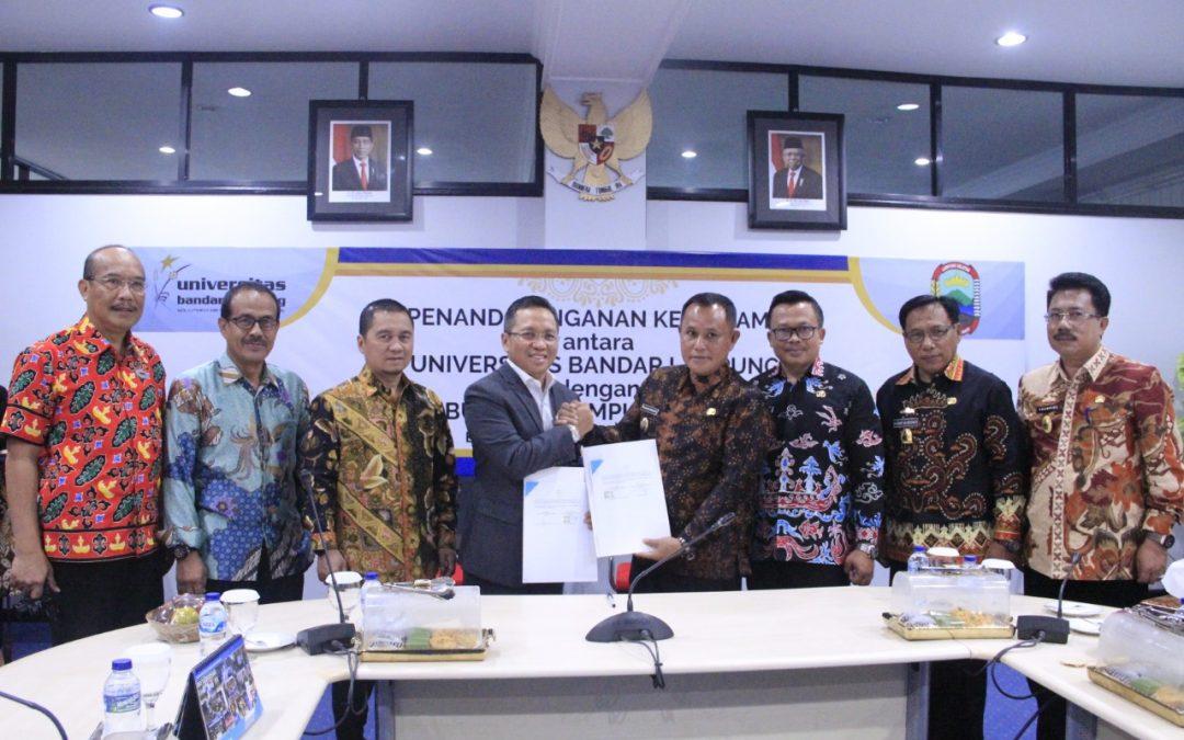 UBL Tandatangani MoU dan PKS dengan Kabupaten Lampung Selatan