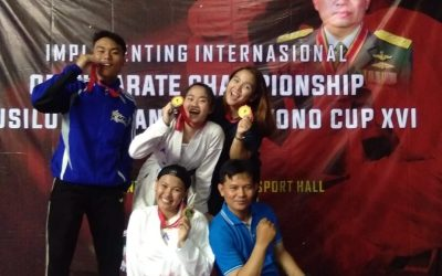 Atlet Karate UBL Borong 4 Medali pada Kejuaraan Internasional