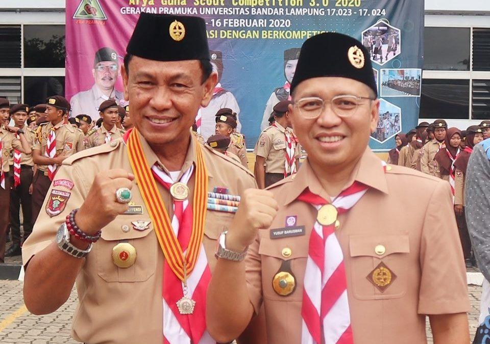 ANASTI 3.0 UBL Jadi Ajang Berkumpul Pramuka se Lampung