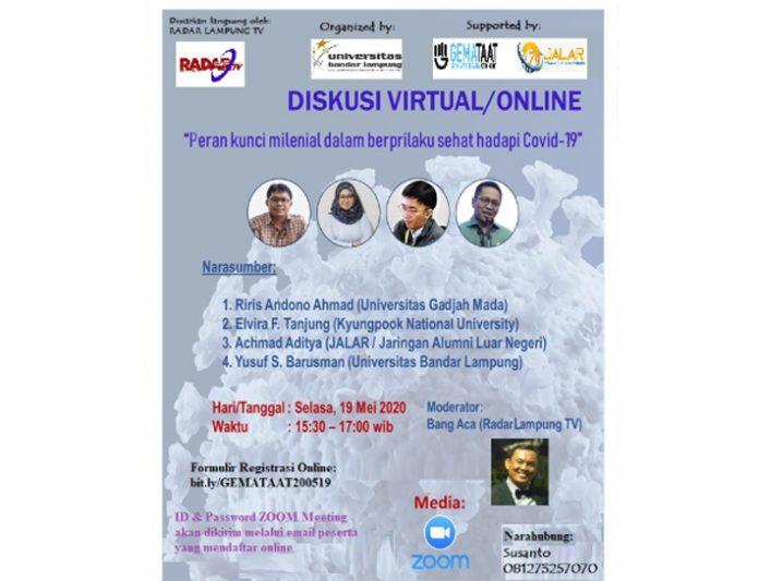 UBL, GEMA TAAT dan JALAR Gelar Seminar Online