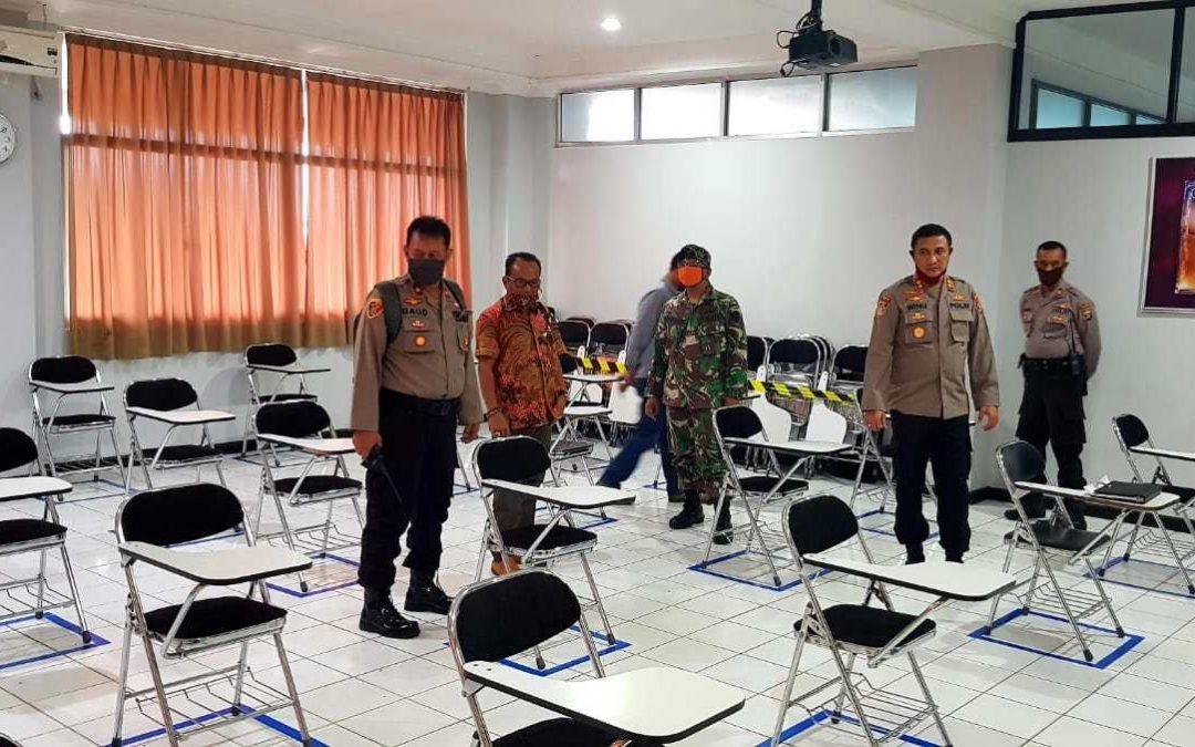 Tim Gugus Tugas COVID-19 TNI POLRI Tinjau Persiapan New Normal UBL