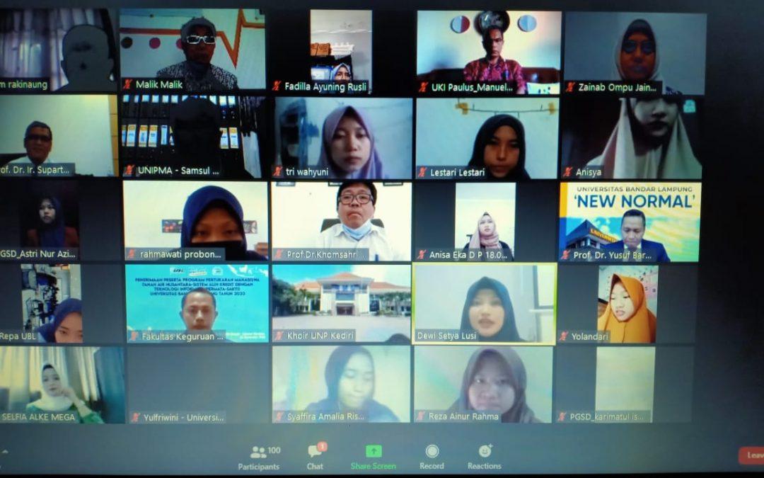 UBL Sambut Peserta Pertukaran Mahasiswa Tanah Air Nusantara